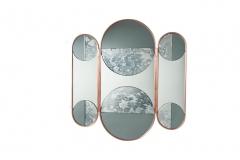 Espelho Lua Triptico - Bianca Barbato
