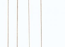 Balanço com estrutura em aço inox e detalhes em inox polido ou aço carbono com pintura epóxi e detalhes em latão. encosto e assento em couro natural ou couro envelhecido. Medidas em cm: 76 x 84 x 150/350H (poltrona 44H / suporte 30H).