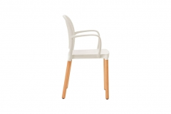 Cadeira Panama Com Braços - Carbono