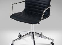 Cadeira Delta Giratória Gomo – Com Braço - 5 Patas - Rodízio - Gás