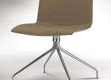 Cadeira Delta Giratória Lisa – 4 Pés - Inox