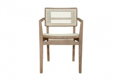 Cadeira Quadrada Com Braço - Drio