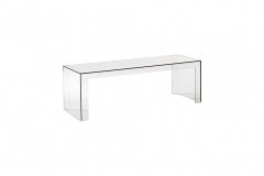 Mesa Centro Invisible Side - Kartell