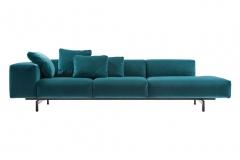 Sofa Largo velluto - Kartell