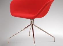 Cadeira Érgo Soft – Base Giratória 4 Pés Inox