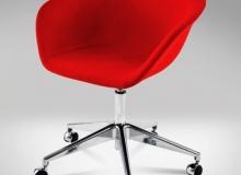 Cadeira Érgo Soft – Base Giratória 5 Patas Rodízio Gás Alumínio