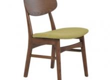 Cadeira Escandinava Érica (encosto madeira)