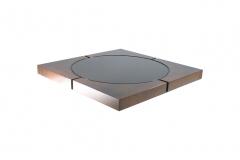 Mesa Centro Plasma Cristal - Mbrasil