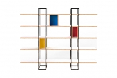 Estante Mondrian - Sergio Fahrer