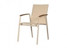 Cadeira Tela - L 57 x P 63 x H 89. Cores - Taupe e Off White. Fornecidos apenas nos acabamentos indicados.