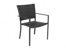 Cadeira com Braço - Fibra Fechada - L 62 x P 60 x H 88